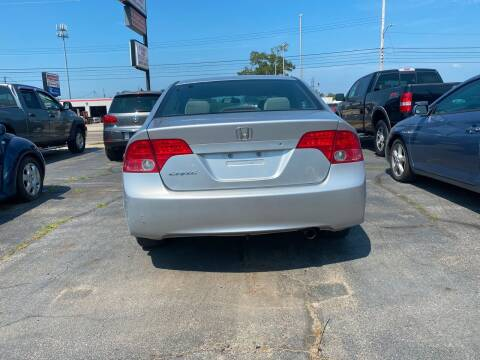 2006 Honda Civic for sale at All State Auto Sales, INC in Kentwood MI