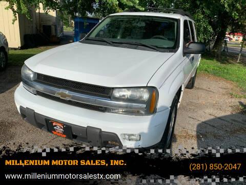 2006 Chevrolet TrailBlazer EXT for sale at MILLENIUM MOTOR SALES, INC. in Rosenberg TX