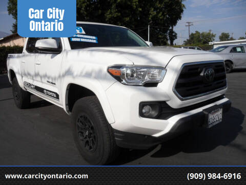 2019 Toyota Tacoma for sale at Car City Ontario in Ontario CA