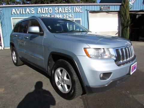 2013 Jeep Grand Cherokee for sale at Avilas Auto Sales Inc in Burien WA