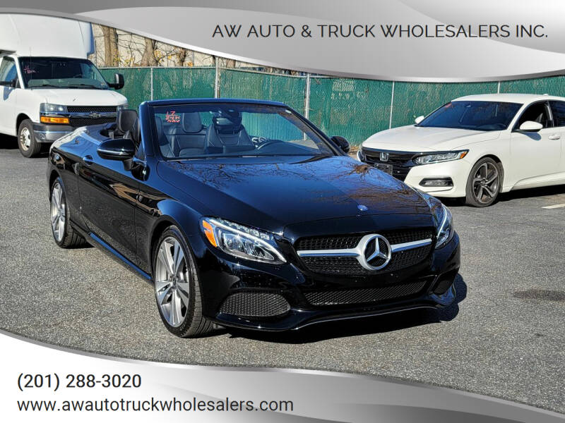 2017 Mercedes-Benz C-Class for sale at AW Auto & Truck Wholesalers  Inc. in Hasbrouck Heights NJ