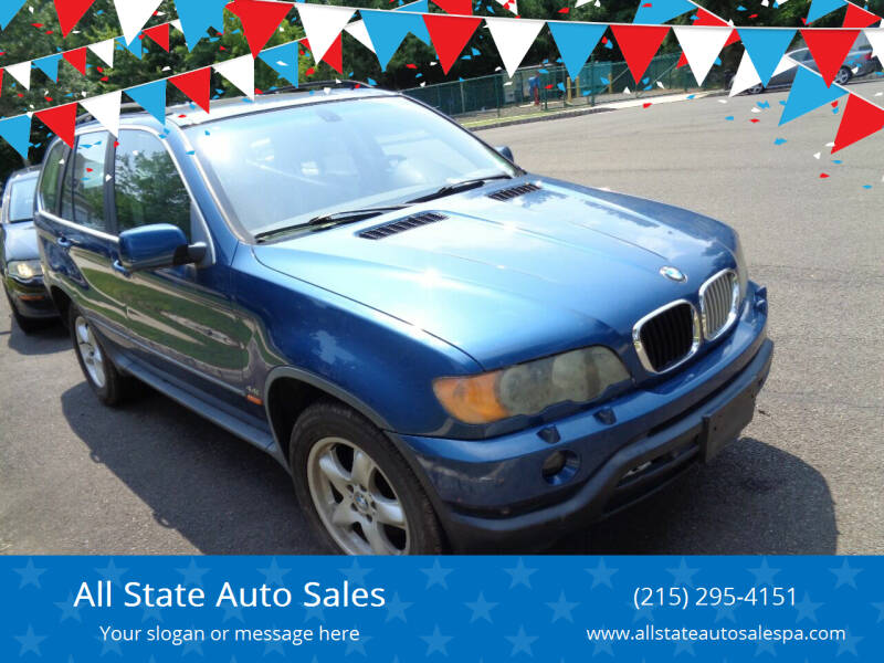 2001 BMW X5 for sale at All State Auto Sales in Morrisville PA