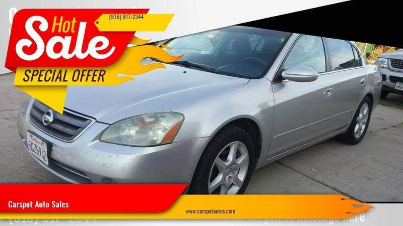 2004 Nissan Altima for sale at Carspot Auto Sales in Sacramento CA