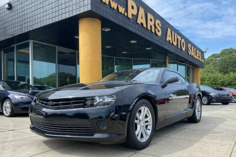 2015 Chevrolet Camaro for sale at Pars Auto Sales Inc in Stone Mountain GA