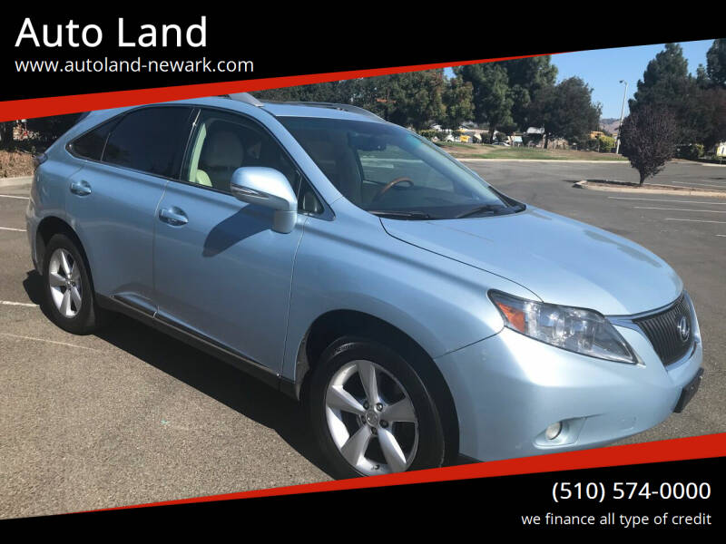 2010 Lexus RX 350 for sale at Auto Land in Newark CA