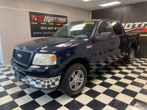 2005 Ford F-150 for sale at T & S Motors in Ardmore TN