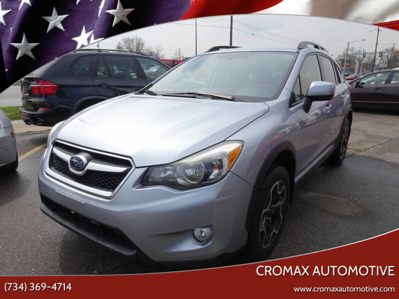 2014 Subaru XV Crosstrek for sale at Cromax Automotive in Ann Arbor MI