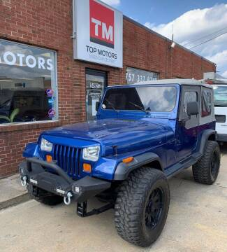 1993 Jeep Wrangler for sale at Top Motors LLC in Portsmouth VA