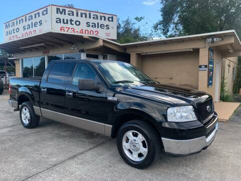 2004 Ford F-150 for sale at Mainland Auto Sales Inc in Daytona Beach FL