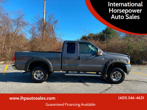2004 Ford F-250 Super Duty for sale at International Horsepower Auto Sales in Warwick RI