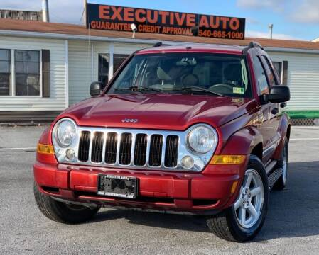 2005 Jeep Liberty for sale at Executive Auto in Winchester VA