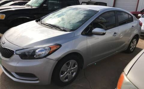 2015 Kia Forte for sale at 4 B CAR CORNER in Anadarko OK