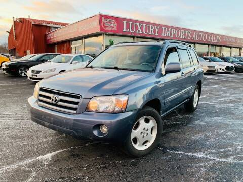 2005 Toyota Highlander for sale at LUXURY IMPORTS AUTO SALES INC in North Branch MN