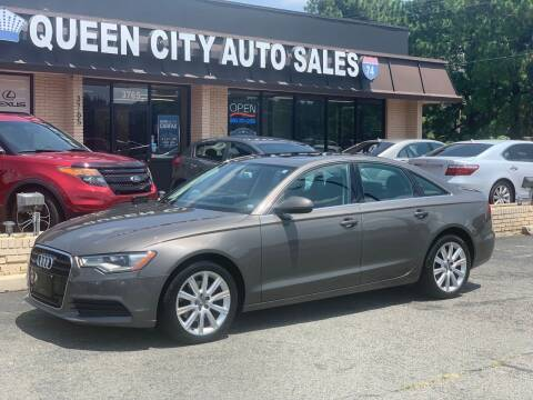 2013 Audi A6 for sale at Queen City Auto Sales in Charlotte NC