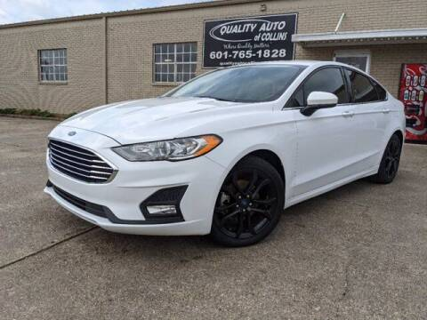 2019 Ford Fusion for sale at Quality Auto of Collins in Collins MS