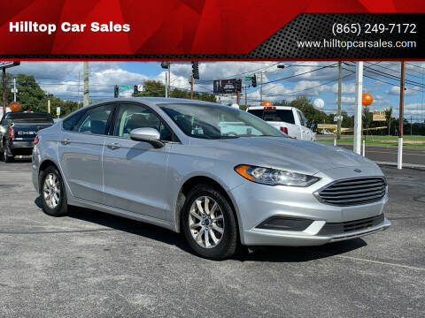 2017 Ford Fusion for sale at Hilltop Car Sales in Knox TN