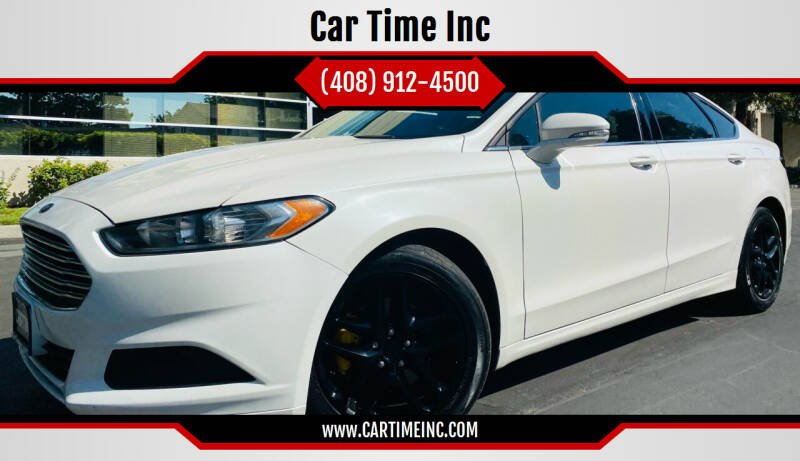2016 Ford Fusion for sale at Car Time Inc in San Jose CA