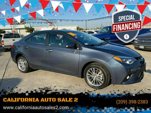 2014 Toyota Corolla for sale at CALIFORNIA AUTO SALE 2 in Livingston CA