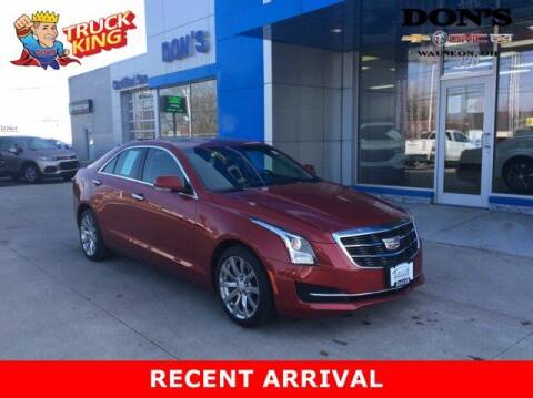 2017 Cadillac ATS for sale at DON'S CHEVY, BUICK-GMC & CADILLAC in Wauseon OH