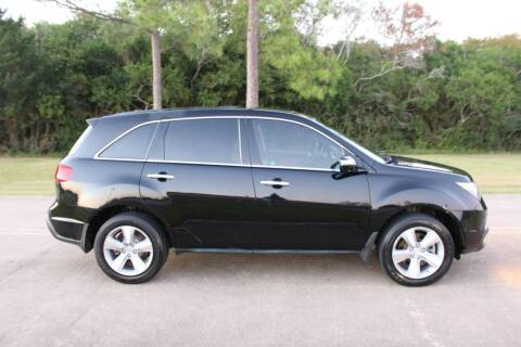 2012 Acura MDX for sale at Clear Lake Auto World in League City TX