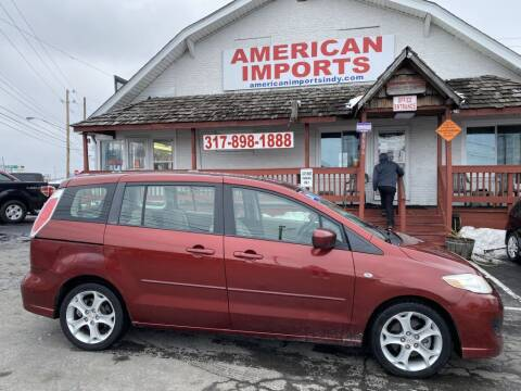 2009 Mazda MAZDA5 for sale at American Imports INC in Indianapolis IN