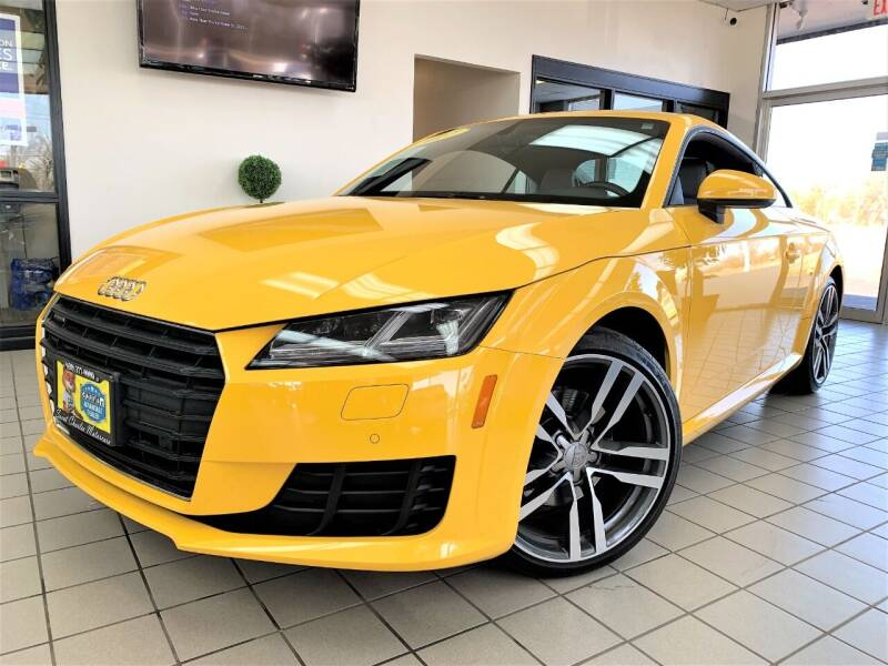 2017 Audi TT for sale at SAINT CHARLES MOTORCARS in Saint Charles IL