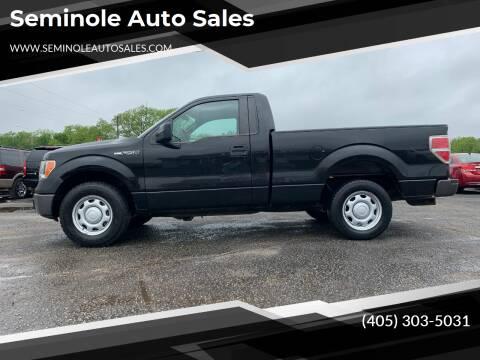 2010 Ford F-150 for sale at Seminole Auto Sales in Seminole OK