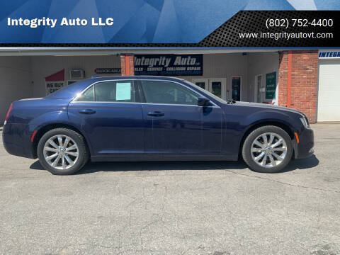 2017 Chrysler 300 for sale at Integrity Auto LLC - Integrity Auto 2.0 in St. Albans VT