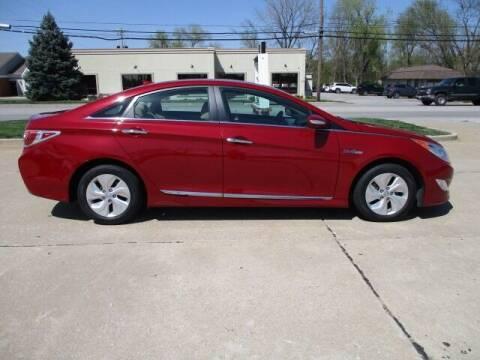 2015 Hyundai Sonata Hybrid for sale at Pinnacle Investments LLC in Lees Summit MO