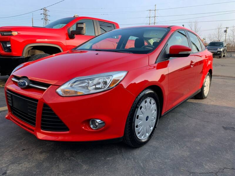 2012 Ford Focus for sale at Tomasello Truck & Auto Sales, Service in Buffalo NY