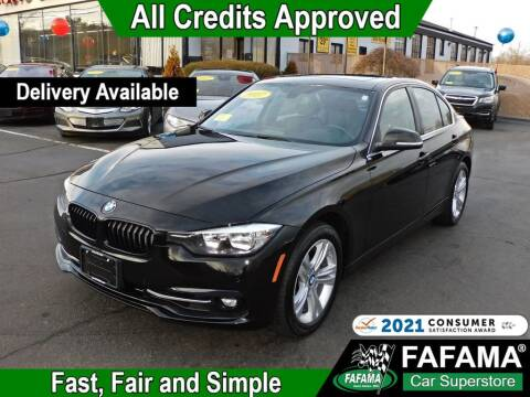 2017 BMW 3 Series for sale at FAFAMA AUTO SALES Inc in Milford MA