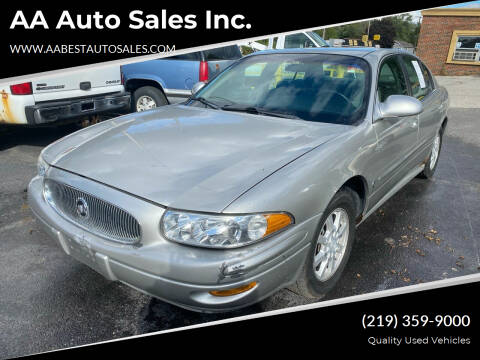 2004 Buick LeSabre for sale at AA Auto Sales Inc. in Gary IN
