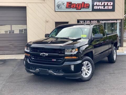2018 Chevrolet Silverado 1500 for sale at Eagle Auto Sales LLC in Holbrook MA