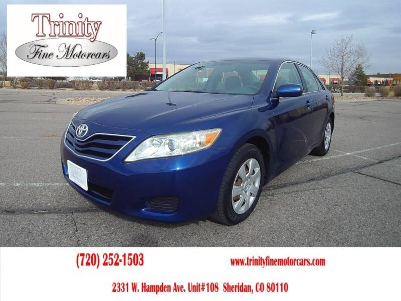 2011 Toyota Camry for sale at TRINITY FINE MOTORCARS in Sheridan CO
