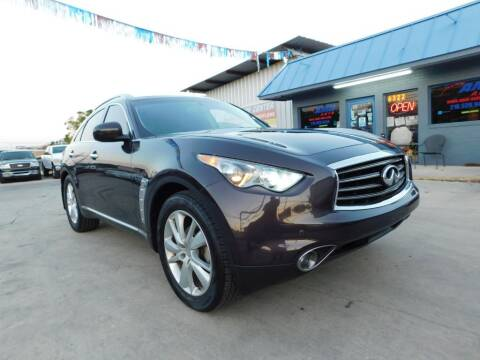 2013 Infiniti FX37 for sale at AMD AUTO in San Antonio TX