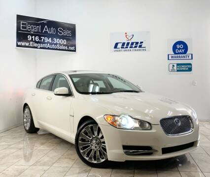 2009 Jaguar XF for sale at Elegant Auto Sales in Rancho Cordova CA