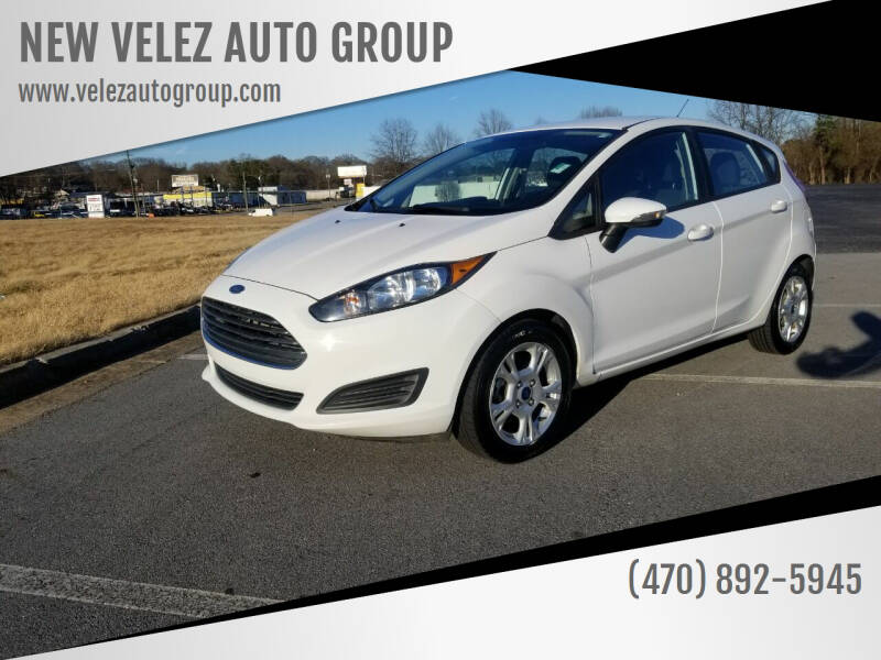 2015 Ford Fiesta for sale at NEW VELEZ AUTO GROUP in Gainesville GA