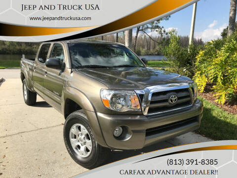 2010 Toyota Tacoma for sale at Jeep and Truck USA in Tampa FL