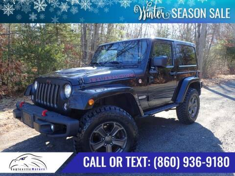 2017 Jeep Wrangler for sale at EAGLEVILLE MOTORS LLC in Storrs CT