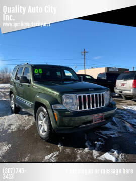 2008 Jeep Liberty for sale at Quality Auto City Inc. in Laramie WY