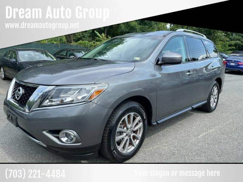 2015 Nissan Pathfinder for sale at Dream Auto Group in Dumfries VA