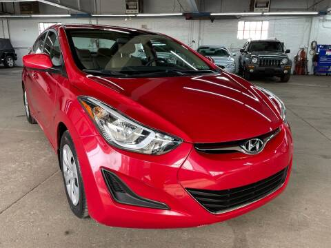 2016 Hyundai Elantra for sale at John Warne Motors in Canonsburg PA