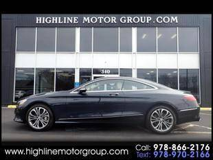 2016 Mercedes-Benz S-Class for sale at Highline Group Motorsports in Lowell MA