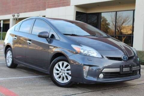 2012 Toyota Prius Plug-in Hybrid for sale at DFW Universal Auto in Dallas TX