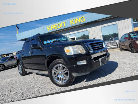 2010 Ford Explorer Sport Trac for sale at Kredit King Autos in Montgomery AL