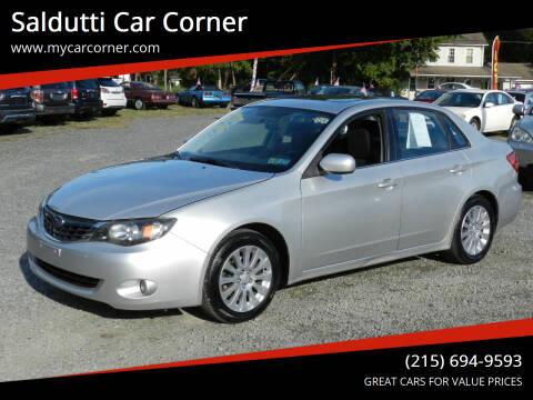 2008 Subaru Impreza for sale at Saldutti Car Corner in Gilbertsville PA