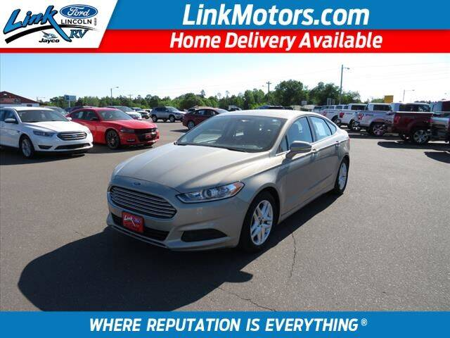 2015 Ford Fusion for sale in Minong, WI