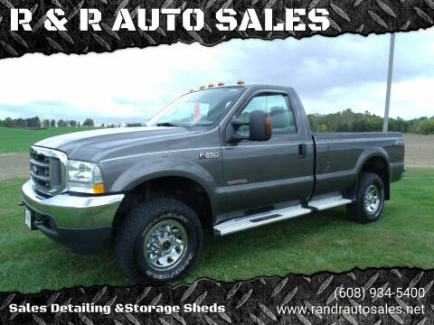 2004 Ford F-250 Super Duty for sale at R & R AUTO SALES in Juda WI