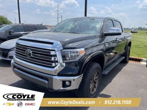 2021 Toyota Tundra for sale at COYLE GM - COYLE NISSAN - New Inventory in Clarksville IN