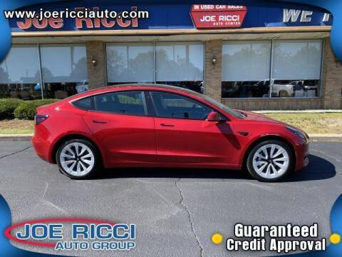 2021 Tesla Model 3 for sale at JOE RICCI AUTOMOTIVE in Clinton Township MI
